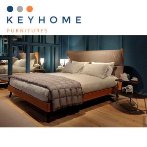 Italy Design Modern Bedroom Furniture Leather Bed Bd 003