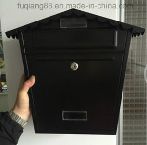 Fq-J111 Wall Mounted Mailbox Black Mailbox pictures & photos