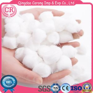 Medical degreasing Cotton roll Sterile Cupping with sterile Cotton Ball White