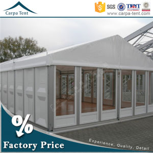 Arabic Style Fireproof 15m * 35m Clear Party Glass Wall Tents with Tables pictures & photos