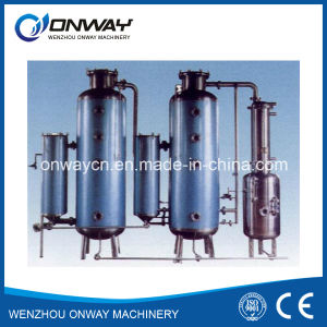 High Efficient Factory Price Stainless Steel Industrial Vacuum Batch Evaporation Crystallizer Forced External Circulating Evaporator