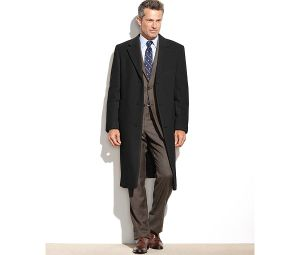 Top-Quality Knee-Length Men′s Cashmere Coat pictures & photos