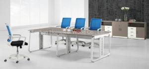 Metal Leg Simple Style Commercial Conference Table Furniture (HF-B028)