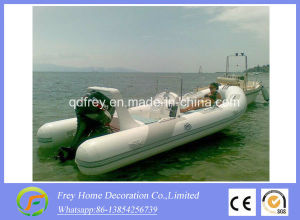 5.8m Ce Rigid Fibreglass Fishing Boat, Rescure Boat pictures & photos