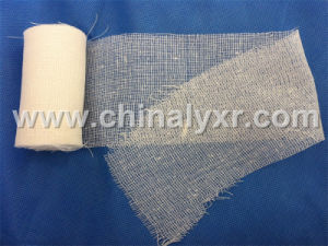 Disposable Medical Cotton Gauze Roll pictures & photos