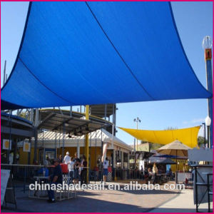 Hot Sale! Blue Color for 100% Virgin New HDPE 95% Shade Rate Sun Shade Sail (Manufacturer)