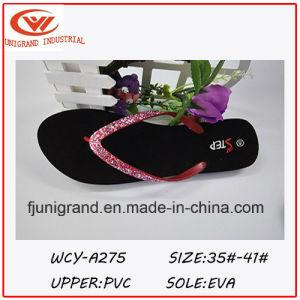 d7be16bdd79067 China 2016 Summer Fashion Design Paillette Ladies Flip Flop - China ...