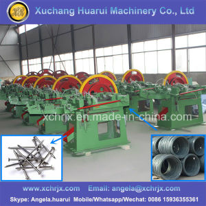 Service Assurance Auto Steel/Iron/Copper Wire Drawing Nail Machine/Nail Making Machine pictures & photos