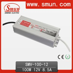 100W LED Power Supply LED Driver Waterproof 12V IP67 CE RoHS 2 Years Warranty