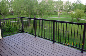 Aluminum Picket Railing (02) for Fence, Dek, Balcony, Corridor and Garden etc
