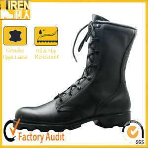 Black Genuine Leather New fashion Quickwear Military Footwear Military pictures & photos