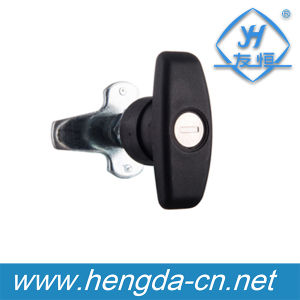 High Quality Cabinet Door Cam T Handle Lock Compression Latch (YH9680) pictures & photos