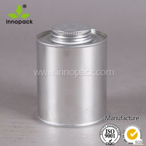Mono-Top Metal Tin Can with Screw Tap with Brush pictures & photos