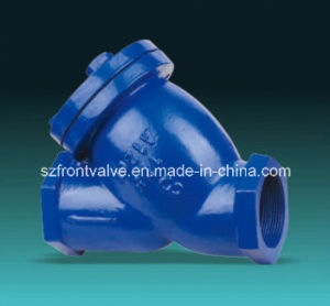 Cast Iron/Ductile Iron Flanged End Y- Strainers pictures & photos