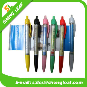 Popular Low Price Banner Custom Logo Pens (SLF-LG038)