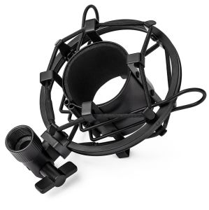T-4 Ideal for Radio Broadcasting Studio / Voice-Over / Sound Studio / Recording Universal Metal Microphone Shock Mount
