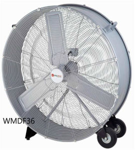 36 Inch High Volume Fan, High Velocity Fan, Drum Fan for Workshop, Patio, Basement, Warehouse pictures & photos