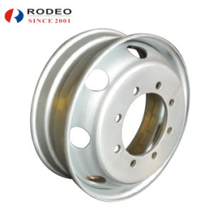 Tube Type Steel Wheel for Light Truck pictures & photos