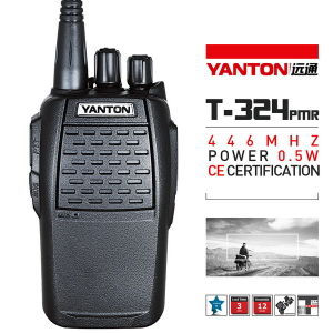 0.5watts PMR 2 Way Radio with CE Approved (YANTON T-324)