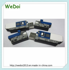Customized Machine PVC USB Flash Disk (WY-PV106) pictures & photos