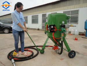 Portable Sand Blasting Cleaning Machine Price pictures & photos