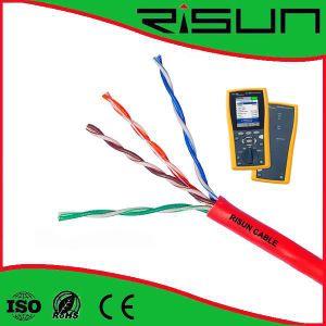 Full Copper High Quality UTP Cat5e Cable Pass Fluke Test