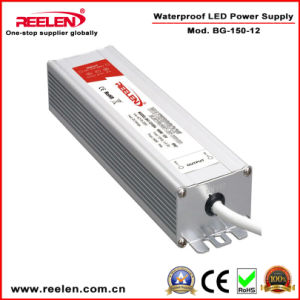 12V 12.5A 150W Waterproof IP67 Constant Voltage LED Power Supply Bg-150-12