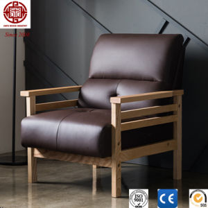 Korean Faux Leather Sofa with Ce