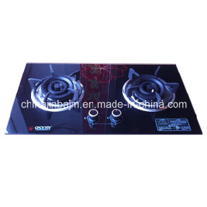 2 Burners 760 Tempered Glass Built-in Hob/Gas Hob pictures & photos