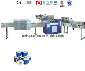 Automatic Single Roll Toilet Paper Packing Machine pictures & photos