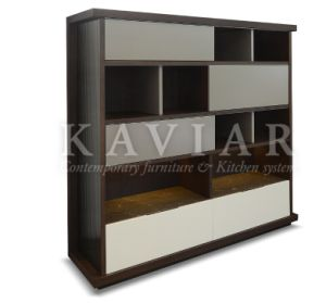 Kaviar Large Space Sliding Door Storage Unit for Living Room (SU130/SU131)