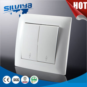 European 2gang 2 Way Wall Switch pictures & photos