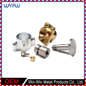 Anodized Turned Brass Aluminum Parts Fabrication Service CNC Machining Parts pictures & photos