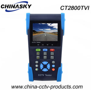 "3.5"" TFT-LCD Portable CCTV Tester for Tvi, Analog Camera (CT2800TVI) pictures & photos"