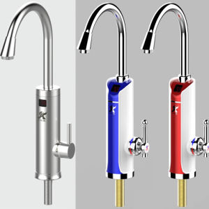 Electric Instant Heating Faucets Basin Mixer