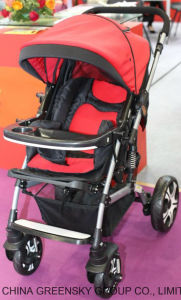 661A with Rubber Wheel Baby Stroller pictures & photos