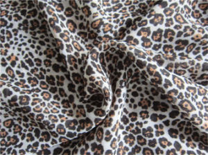 Printed Polyester Chiffon Velvet for Dress (XSFC-003) pictures & photos