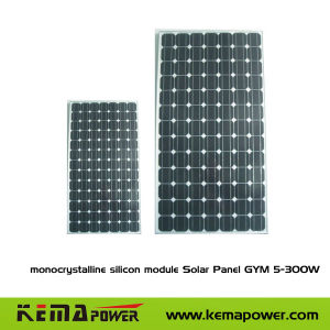 Monocrystalline Modules Solar Panel for Solar System (GYM 10-340W) pictures & photos