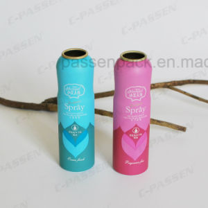 Aluminum Fragrance Perfume Aerosol Spray Can with Shaped Body (PPC-AAC-010) pictures & photos