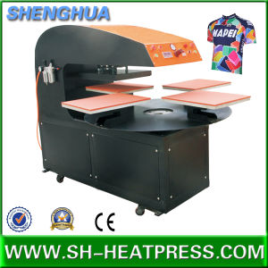 Automatic Four Stations Heat Press Transfer Machine for T Shirt Sublimation Transfer pictures & photos