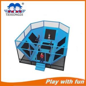 Indoor Kids Professional Large Jump Trampoline with Foam Pit pictures & photos
