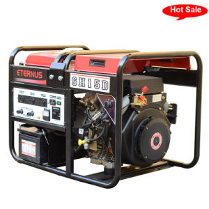 Easy Move 10kVA Single Phase Diesel Generator (SH8Z) pictures & photos