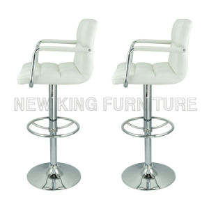 Modern Cheap Leisure Chair Used Bar Furniture Leather Bar Chair (NK-BCB001)