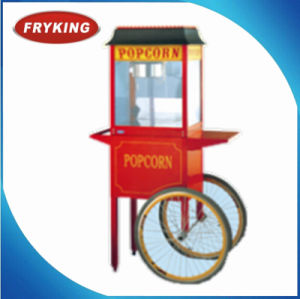 Ls-06 Fryking Popcorn Machine with Cart pictures & photos