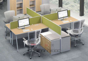 China School Office Furniture Partition Desk Staff Workstation pictures & photos