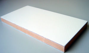 25mm Thick Gel Coated Reinforced Fiberglass Plywood Panels