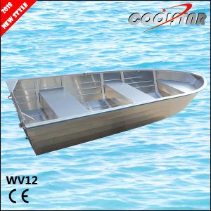 China Hot Sales Cheap All Welded V Hull Aluminum Jon Boat (WV12