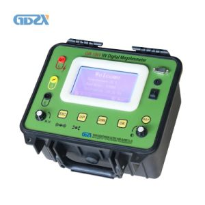 R15 R60 R600 DAR PI 10KV Digital Insulation Tester Megger