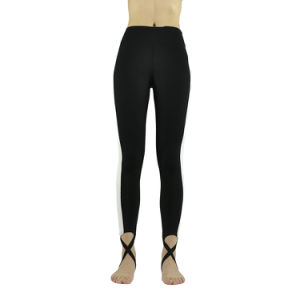 8af7b6aefc China Black and White Women′s Yoga Pants High-Waist Tight - China ...