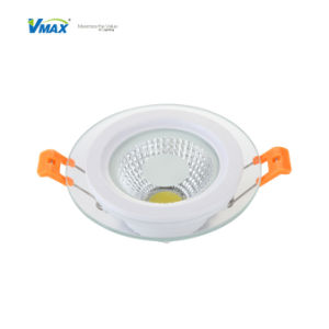 10W LED Recessed Downlight COB Glass Panellight pictures & photos